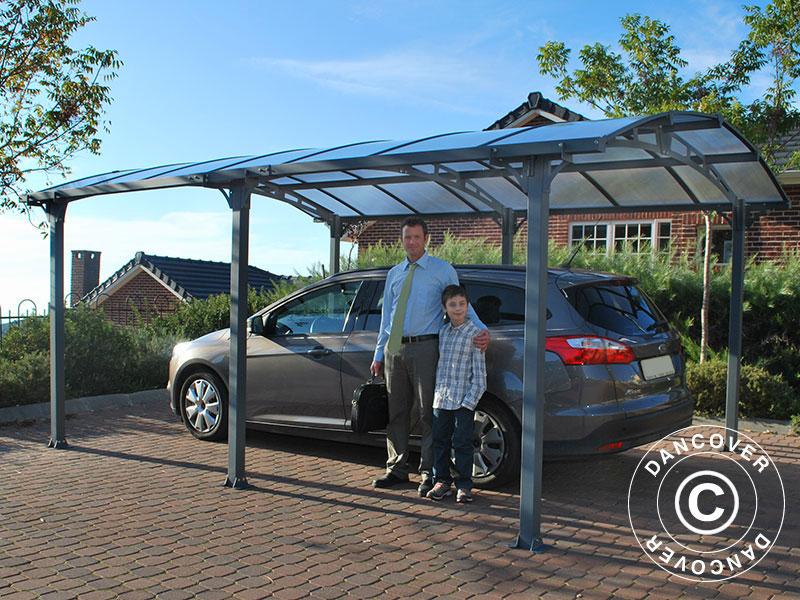 Een carport van Dancover beschermt uw auto elke dag