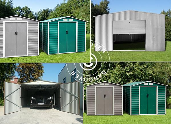 Metalen garages – de veilige en duurzame opslagoplossing