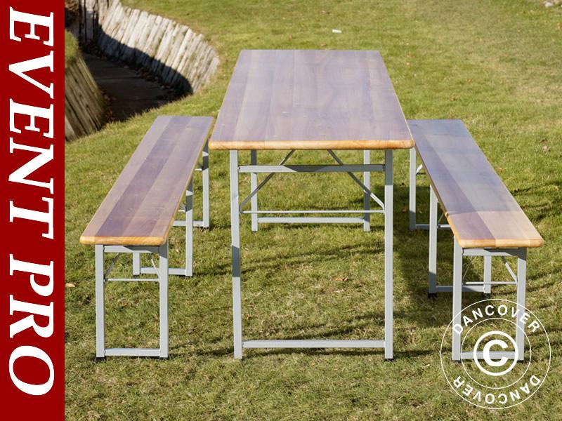 Set tafel en banken voor allerlei gelegenheden