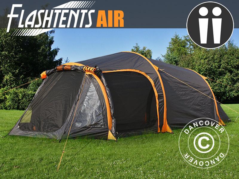 Luchttenten van Dancover – maken kamperen nog makkelijker