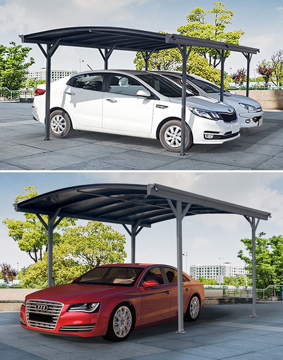 Carports voor debescherming van uw auto en meer