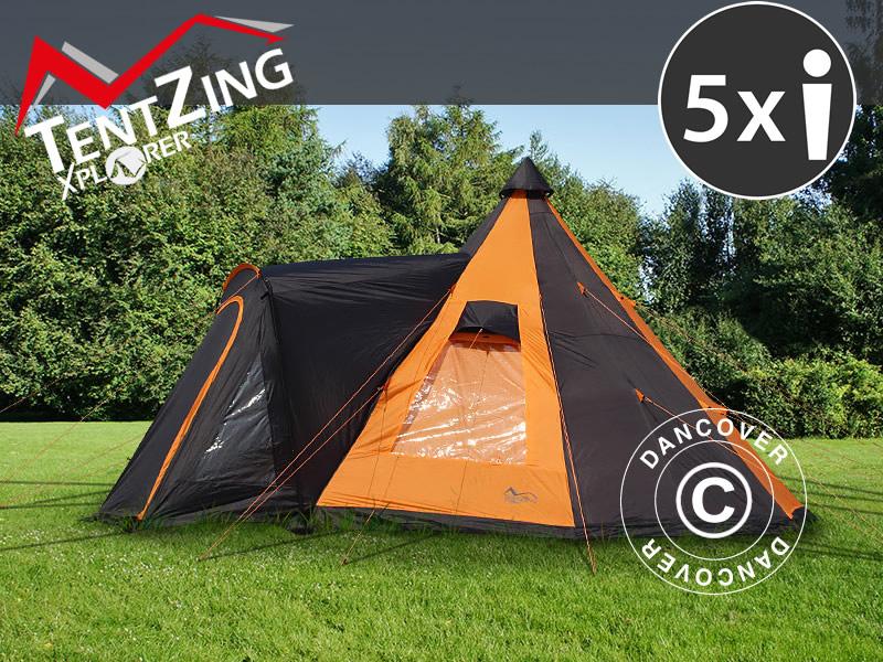 Kampeertenten van TentZing® Xplorer - een geweldige functionaliteit, design en comfort