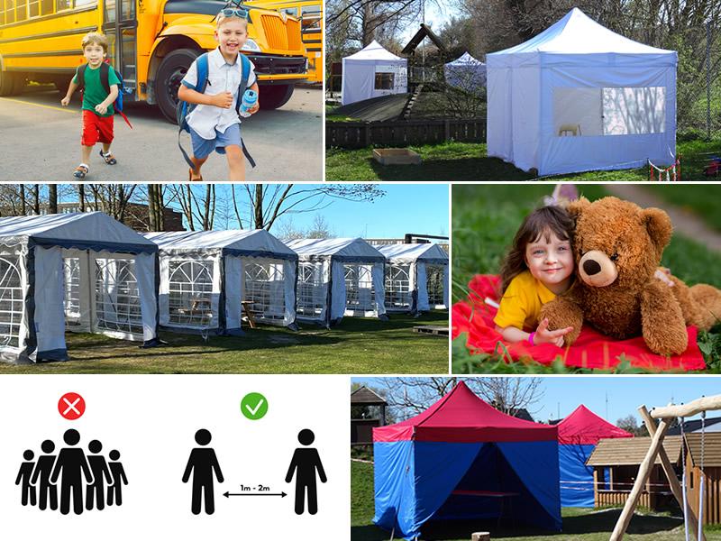 partytenten, FleXtents vouwtenten, FleXtents, vouwtenten, tenten, tent, sociale afstand, partytenten, Dancover, Dancovershop
