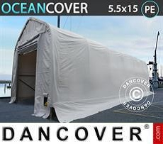 Opslagtent Oceancover 5,5x15x4,1x5,3m, Wit