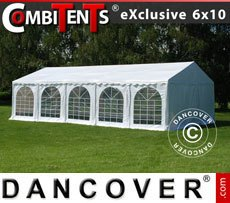 Partytent, Exclusive CombiTents� 6x10m, 3-in-1, Wit