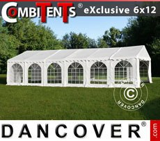 Partytent, Exclusive CombiTents� 6x12m 4-in-1, Wit