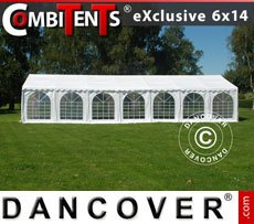 Partytent, Exclusive CombiTents� 6x14m 5-in-1, Wit