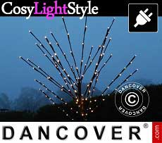LED-licht decoratie boom, 1,1m, 80 LED, Warm Wit