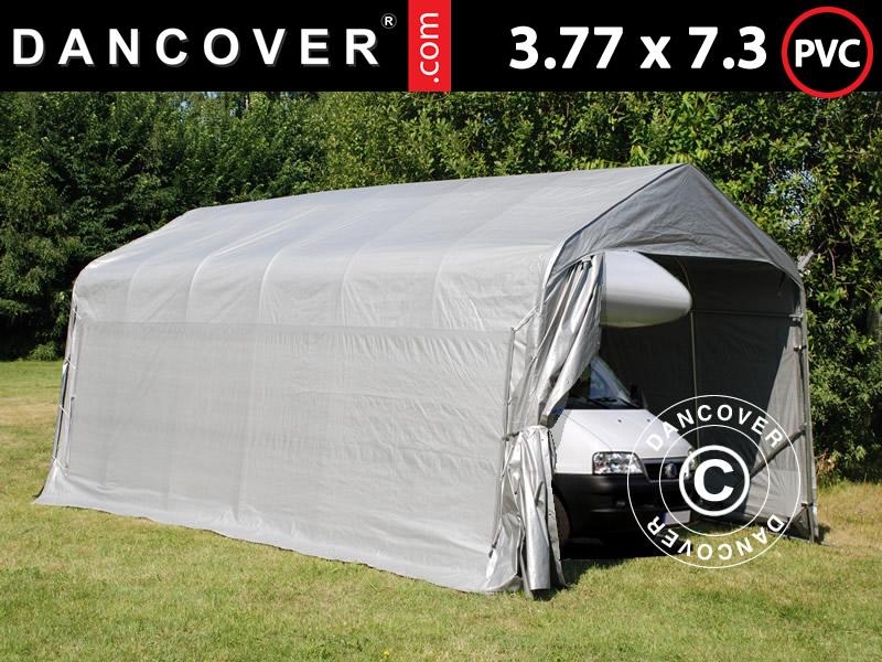 Caravans en campers kunnen het best in een opslagtent worden